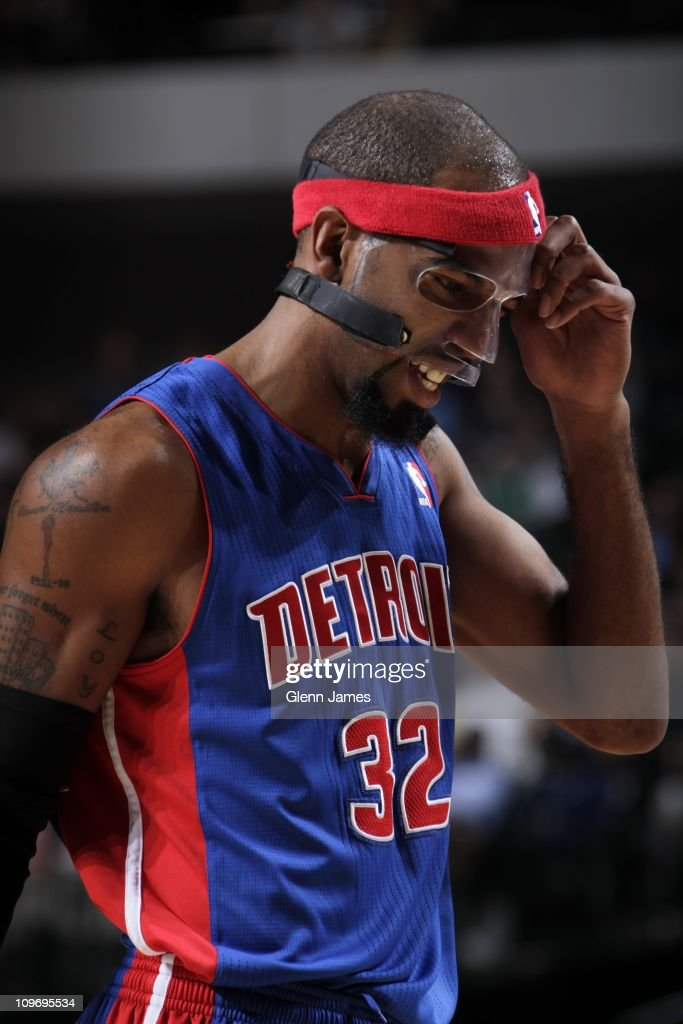 Detroit Pistons shooting guard Richard Hamilton #32 is seen during the game against the Dallas Mavericks on November 23, 2010 at the American Airlines Center in Dallas, Texas. The Mavericks won 88-84.