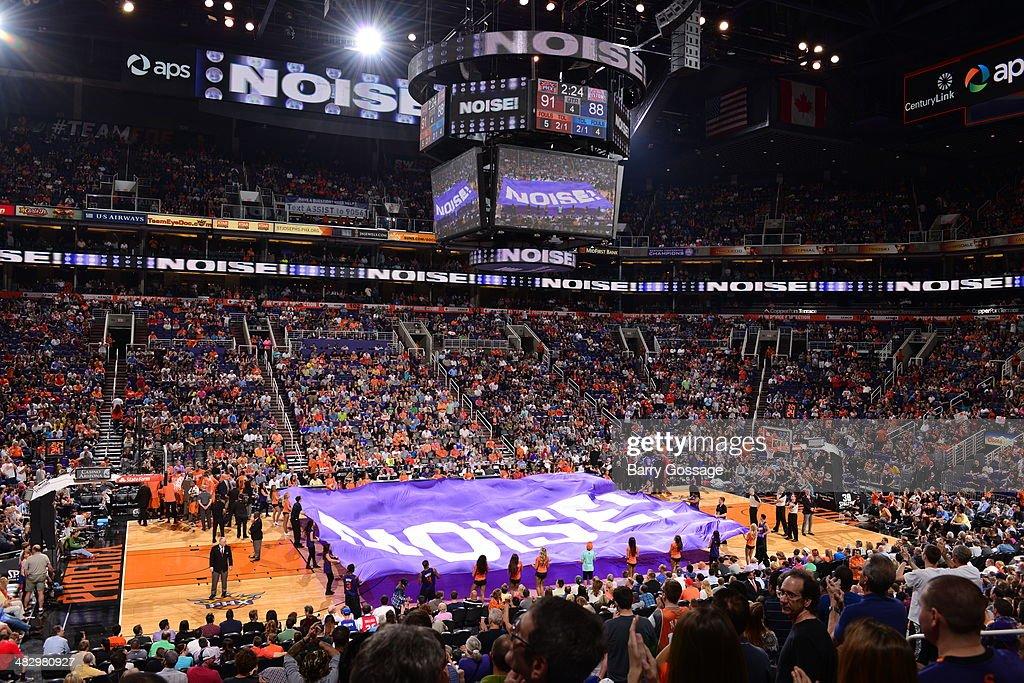 Detroit Pistons v Phoenix Suns on March 21, 2014 at U.S. Airways Center in Phoenix, Arizona.