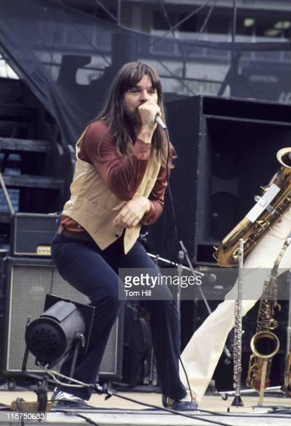 Bob Seger with the Silver Bullet Band during Bob Seger and the Silver Bullet Band in Concert at the AtlantaFulton County Stadium August 29 1976 at...