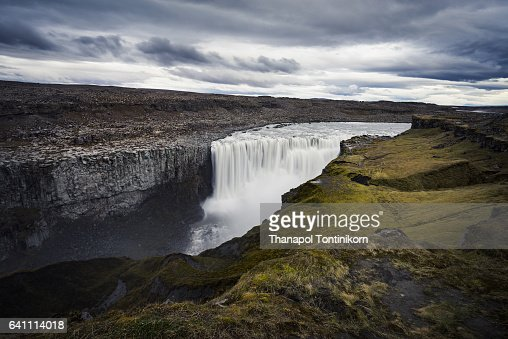 Dettifoss (Detti Waterfall) in Iceland.