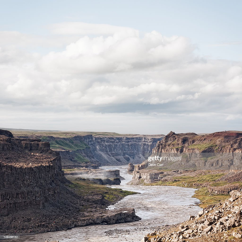 Dettifoss : Stock Photo