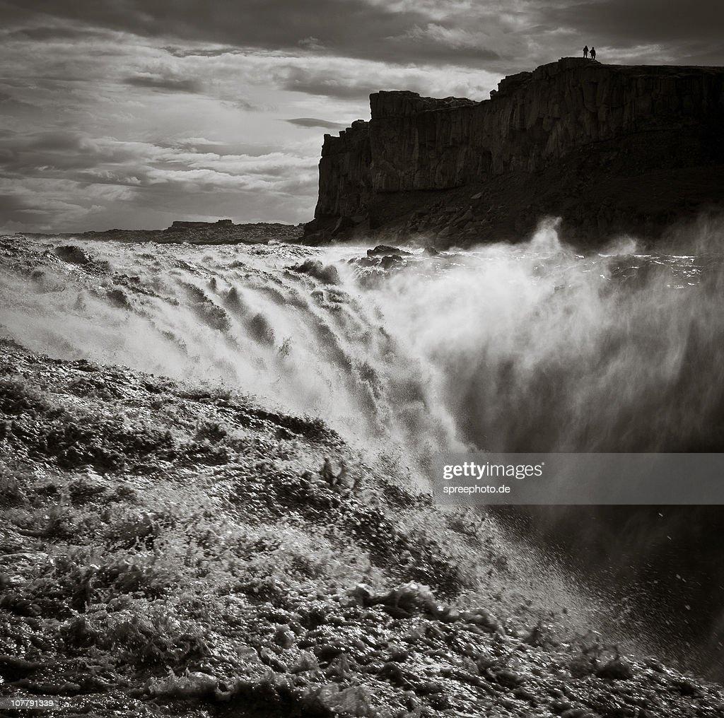 Dettifoss Waterfall, Iceland : Stock Photo