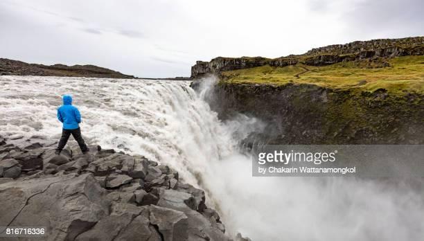 Dettifoss Waterfall, Iceland.