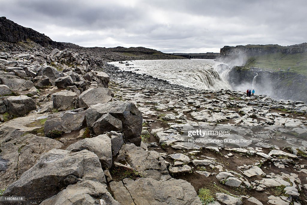 Dettifoss waterfall, Vatnajokull National Park, Iceland : Stock Photo