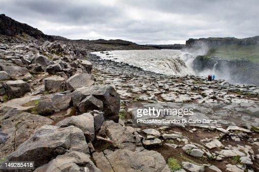 Dettifoss waterfall, Vatnajokull National Park, Iceland : Stockfoto