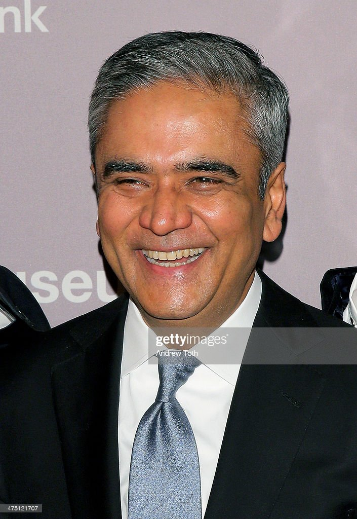 Deutsche Bank CEO <a gi-track='captionPersonalityLinkClicked' href=/galleries/search?phrase=Anshu+Jain&family=editorial&specificpeople=4132683 ng-click='$event.stopPropagation()'>Anshu Jain</a> attends the Jewish Museum's Purim Ball 2014 at Park Avenue Armory on February 26, 2014 in New York City.