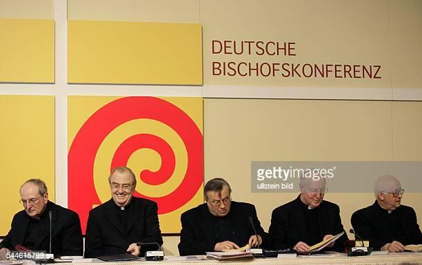 Deutsche Bischofskonferenz Vollversammlung der deutschen Bischöfe Joachim Kardinal Meisner Apostolischer Nuntius Erwin Josef Ender Vorsitzender der...