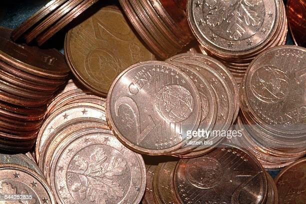 deutsche Euro Cent Münzen 2CentMünzen Geld Währung