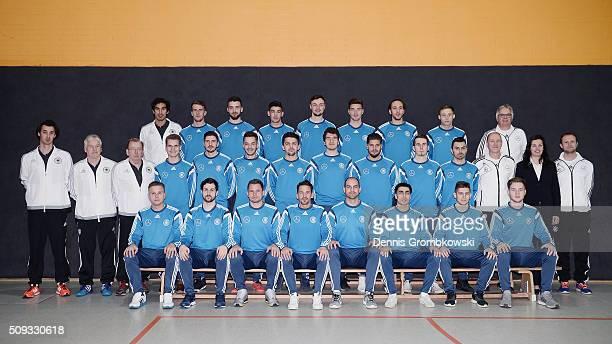 Deutscher Fussball Bund DFB launches new Futsal national team on February 9 2016 in Kamen Germany