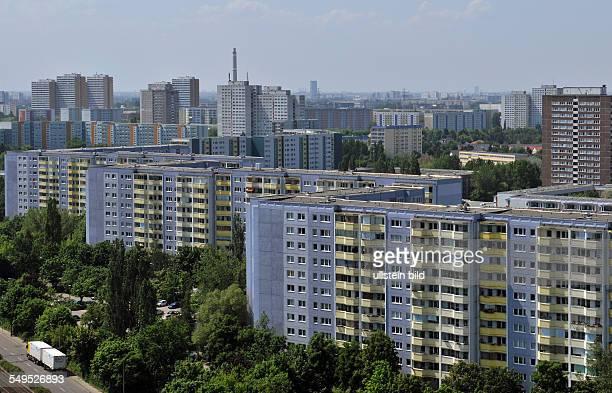 Deutschland Berlin Allee der Kosmonauten in Marzahn
