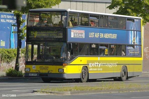 deutschland berlin bvg bus doppeldeckerbus der metrolinie m48 pictures getty images. Black Bedroom Furniture Sets. Home Design Ideas