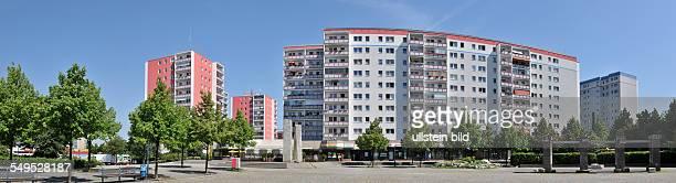Deutschland Berlin Cecilienplatz in Hellersdorf