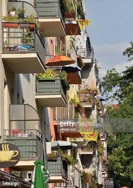 Deutschland Berlin Fassaden in der Seelingstraße