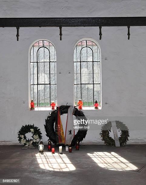 Deutschland Berlin Gedenkstaette Ploetzensee fuer die Opfer des Nationalsozialismus