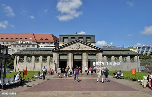 Deutschland Berlin UBahnhof Wittenbergplatz