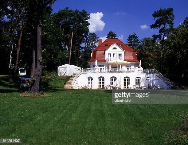 Bad Saarow 'Villa Contessa' am Scharmützelsee Die Villa ist Deutschlands kleinstes First Class Hotel 2004