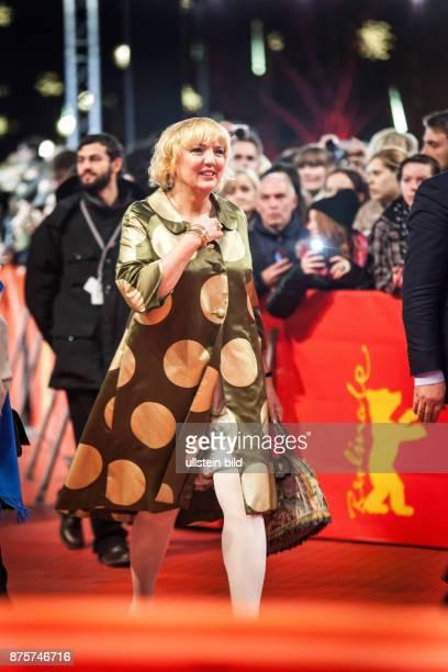 DEU Deutschland Germany Berlin 64 Berlinale das Internationale Filmfestival in der deutschen Hauptstadt Die GrünenPolitikerin Claudia Roth mit...