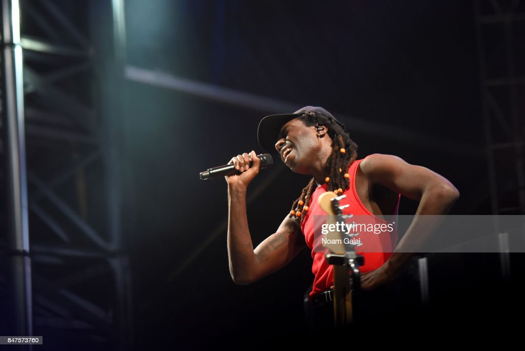 Dev Hynes of Blood Orange performs onstage during the Meadows Music And Arts Festival - Day 1 at Citi Field on September 15, 2017 in New York City.