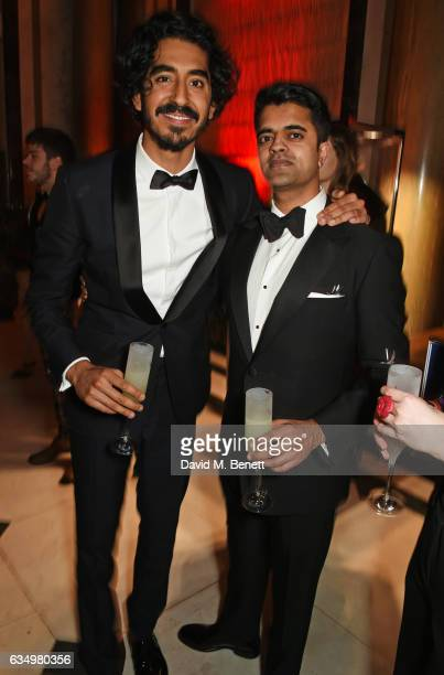 Dev Patel and Divian Ladwa attend The Weinstein Company Entertainment Film Distributors Studiocanal 2017 BAFTA After Party in partnership with Ben...