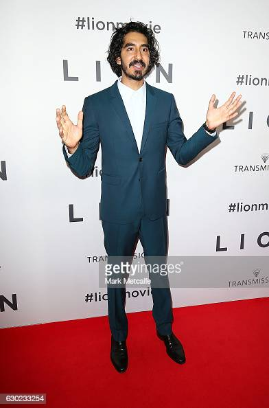 Dev Patel arrives ahead of the Australian premiere of LION at State Theatre on December 19 2016 in Sydney Australia