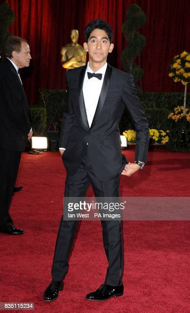 Dev Patel arriving for the 81st Academy Awards at the Kodak Theatre Los Angeles