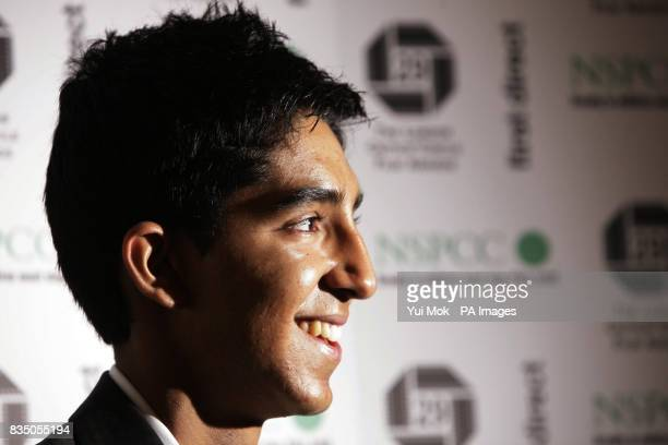 Dev Patel arriving for The London Critics' Circle Film Awards at Grosvenor House Hotel in central London