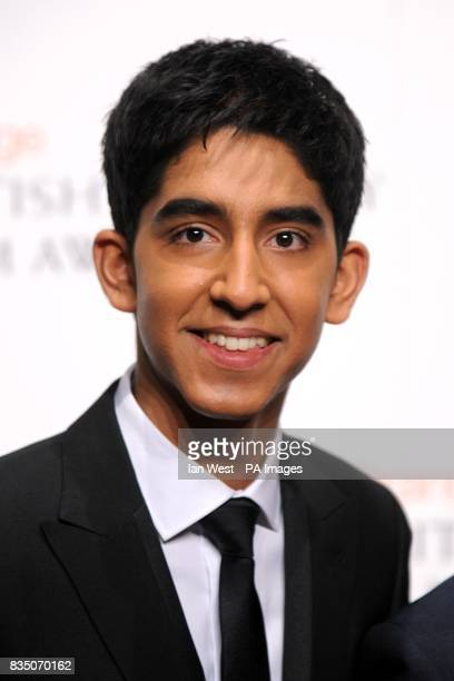 Dev Patel at the 2009 British Academy Film Awards at the Royal Opera House in Covent Garden central London