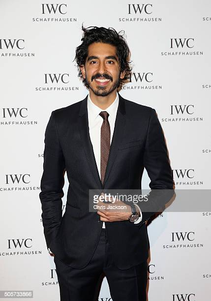 Dev Patel attends the IWC 'Come Fly with us' Gala Dinner during the launch of the Pilot's Watches Novelties from the Swiss luxury watch manufacturer...