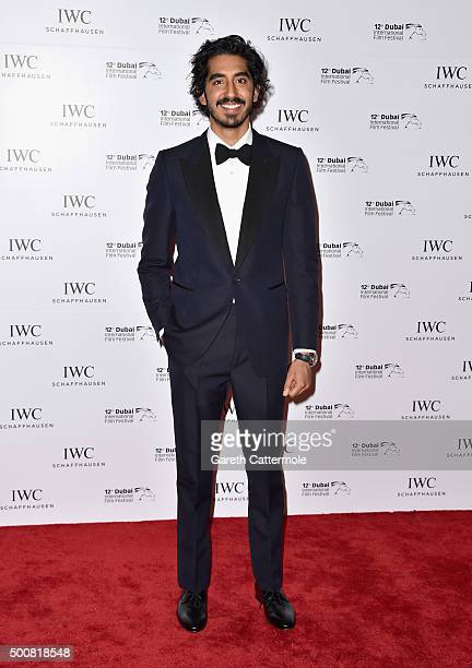 Dev Patel attends the IWC Filmmakers Award during day two of the 12th annual Dubai International Film Festival held at The One and Only Mirage Hotel...