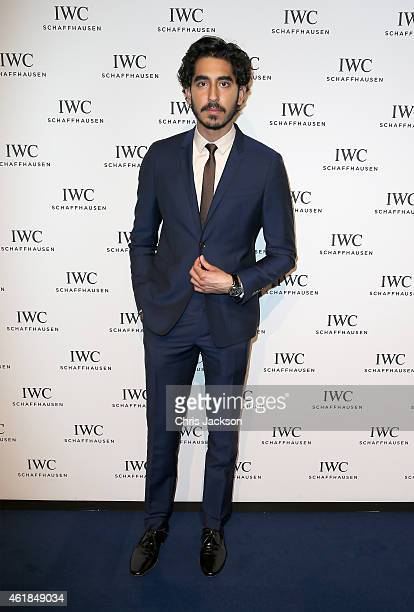 Dev Patel attends the IWC Gala Dinner during the Salon International de la Haute Horlogerie 2015 at the Palexpo on January 20 2015 in Geneva...