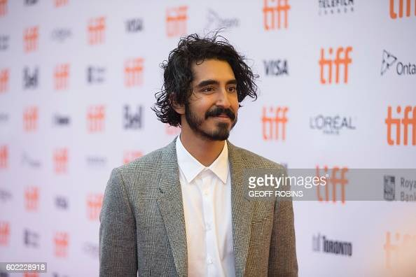 Dev Patel poses for photographers at the premier for Lion at the Toronto International Film Festival in Toronto Ontario September 10 2016 / AFP /...