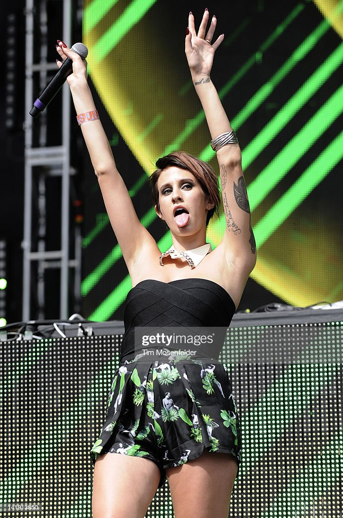 Dev performs as part of Day Three of Ultra Music Festival 14 at Bayfront Park on March 25, 2012 in Miami, Florida.