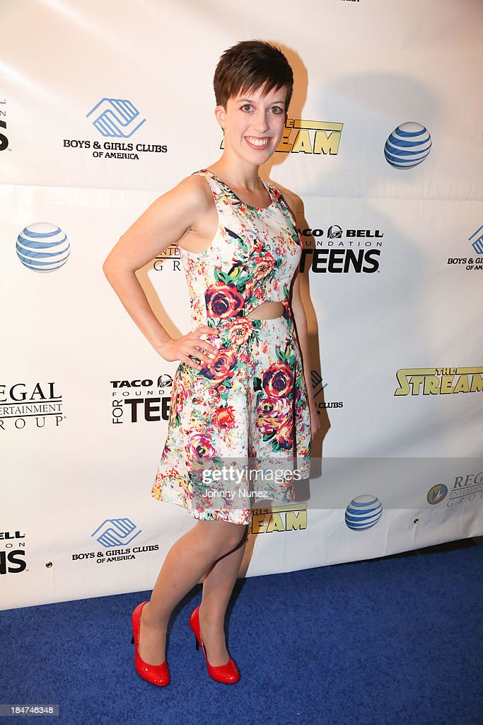 Devan Maura Saber attends 'The Stream' Premiere at Regal Union Square Theatre, Stadium 14 on October 15, 2013 in New York City.