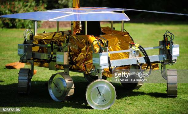 A development model of the Mars Rover called Bridget at the University of Leicester as a team of scientists from the University will start work on...