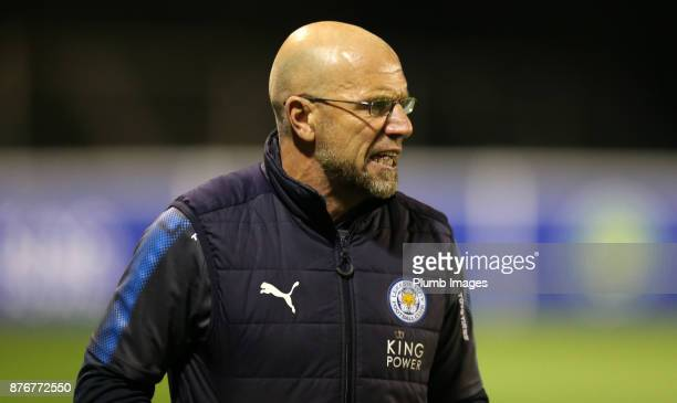 Development Squad coach Steve Beaglehole during the Premier League 2 match between Leicester City and Sunderland at Holmes Park on November 20th 2017...