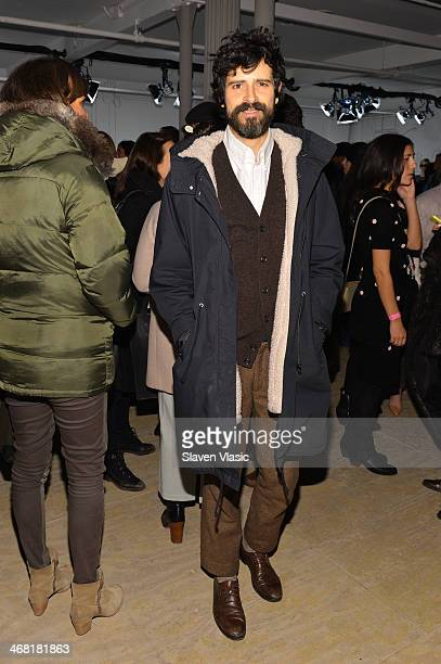 Devendra Banhart attends the Band Of Outsiders Women's Presentation during MercedesBenz Fashion Week Fall 2014 on February 9 2014 in New York City
