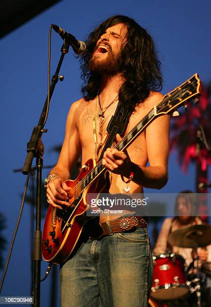 Devendra Banhart during 2006 Coachella Valley Music and Arts Festival Day One at Empire Polo Fields in Indio California United States