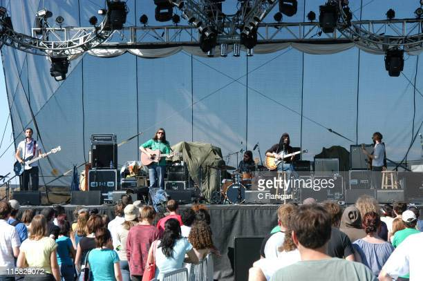 Devendra Banhart during Vegoose Music Festival 2005 Day 1 Devendra Banhart at Sam Boyd Stadium in Las Vegas Nevada United States