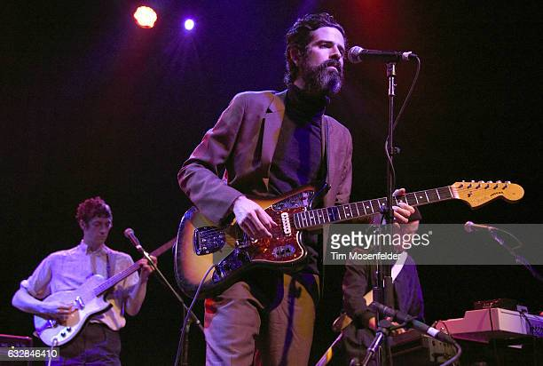 Devendra Banhart performs at The Fillmore on January 26 2017 in San Francisco California