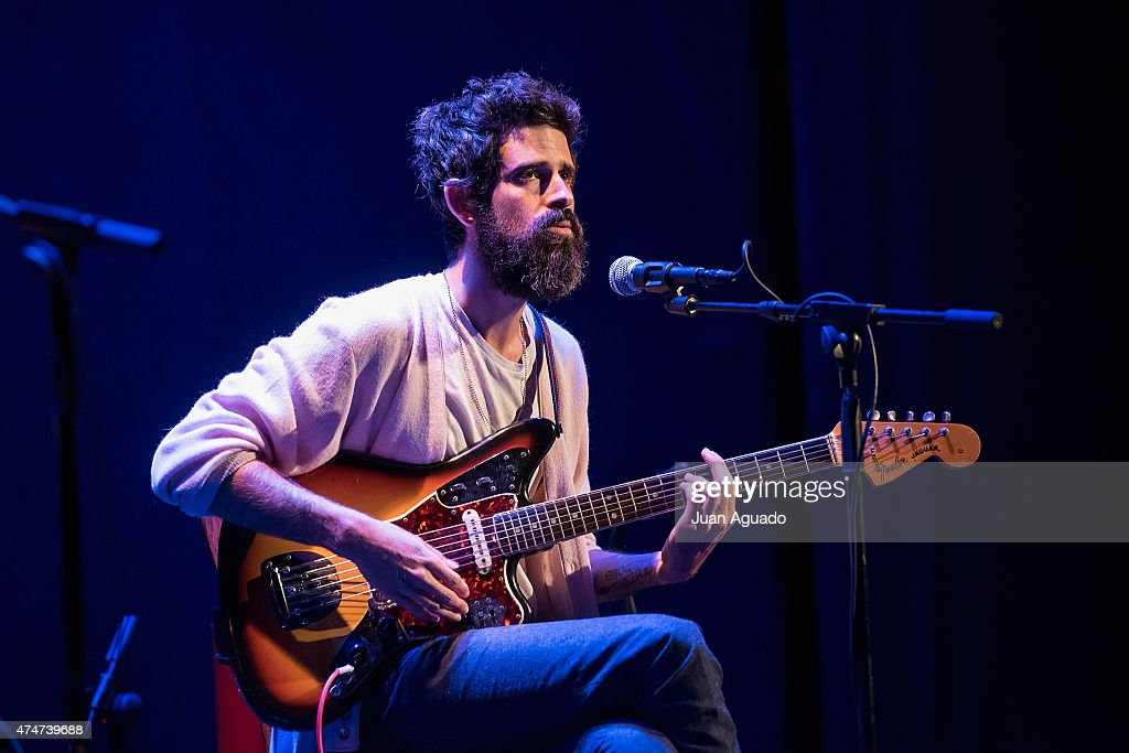 Devendra Banhart Performs in Concert in Madrid