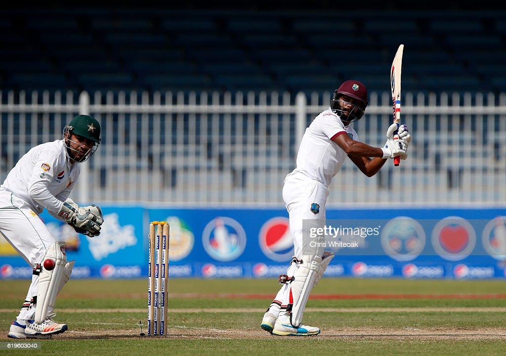 Pakistan v West Indies - 3rd Test: Day Three