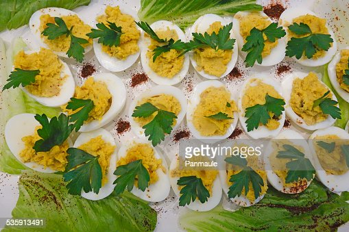 Deviled Eggs : Stock Photo