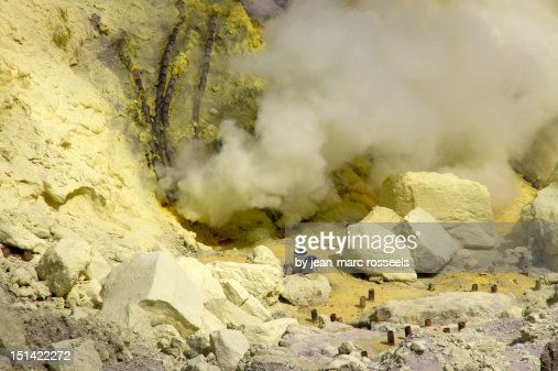 Devil's Cauldron : Stock Photo