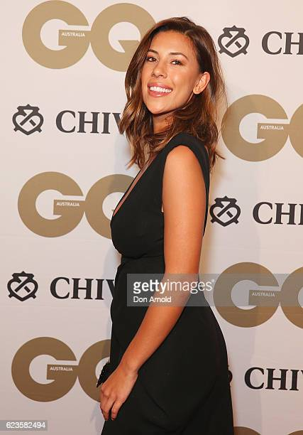 Devin Brugman arrives at the GQ Men of the Year Awards 2016 at The Ivy on November 16 2016 in Sydney Australia
