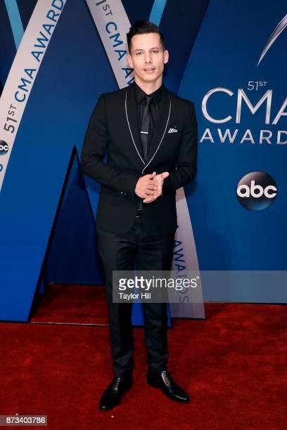 Devin Dawson attends the 51st annual CMA Awards at the Bridgestone Arena on November 8 2017 in Nashville Tennessee