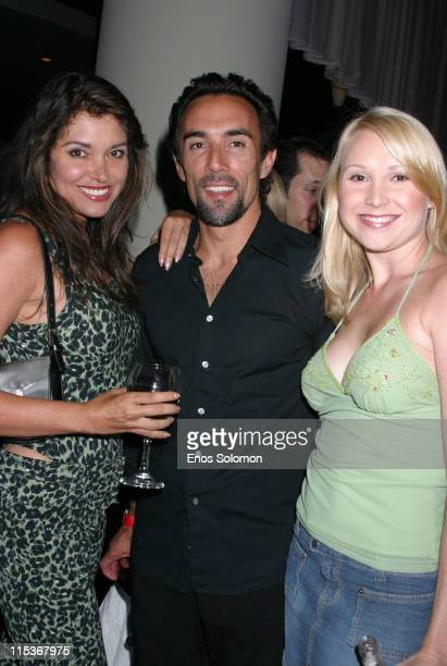 Devin Devasquez Francesco Quinn and Alana Curry during 'Vlad' Los Angeles Premiere Arrivals at The ArcLight in Los Angeles California United States