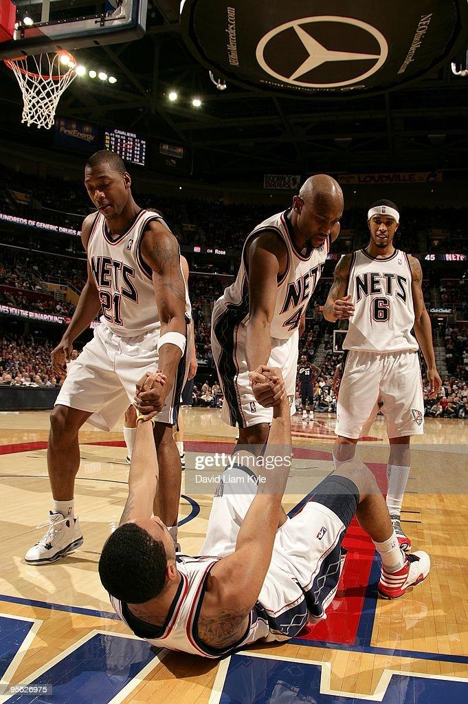 New Jersey Nets v Cleveland Cavaliers
