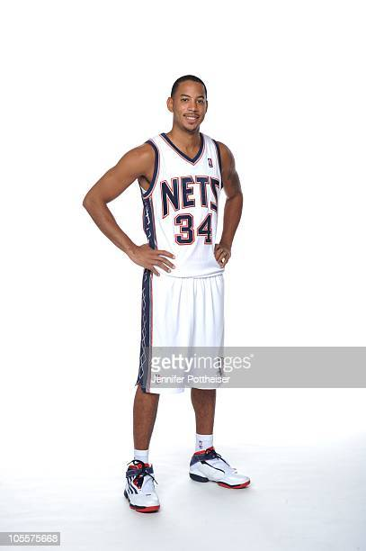 Devin Harris of the New Jersey Nets poses for a photo during Media Day on September 24 2010 at the PNY Center in East Rutherford New Jersey NOTE TO...