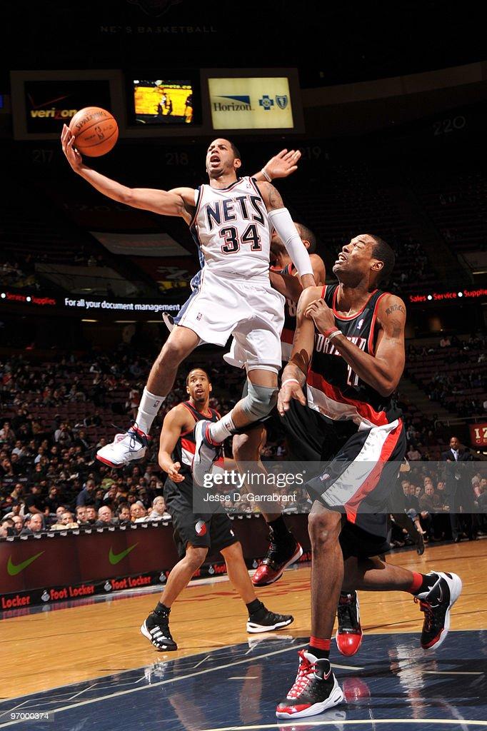 Portland Trail Blazers v New Jersey Nets