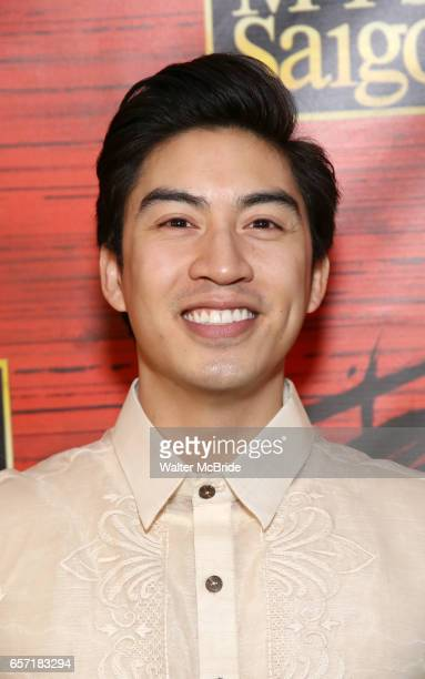 Devin Haw attends The Opening Night After Party for the New Broadway Production of 'Miss Saigon' at Tavern on the Green on March 23 2017 in New York...